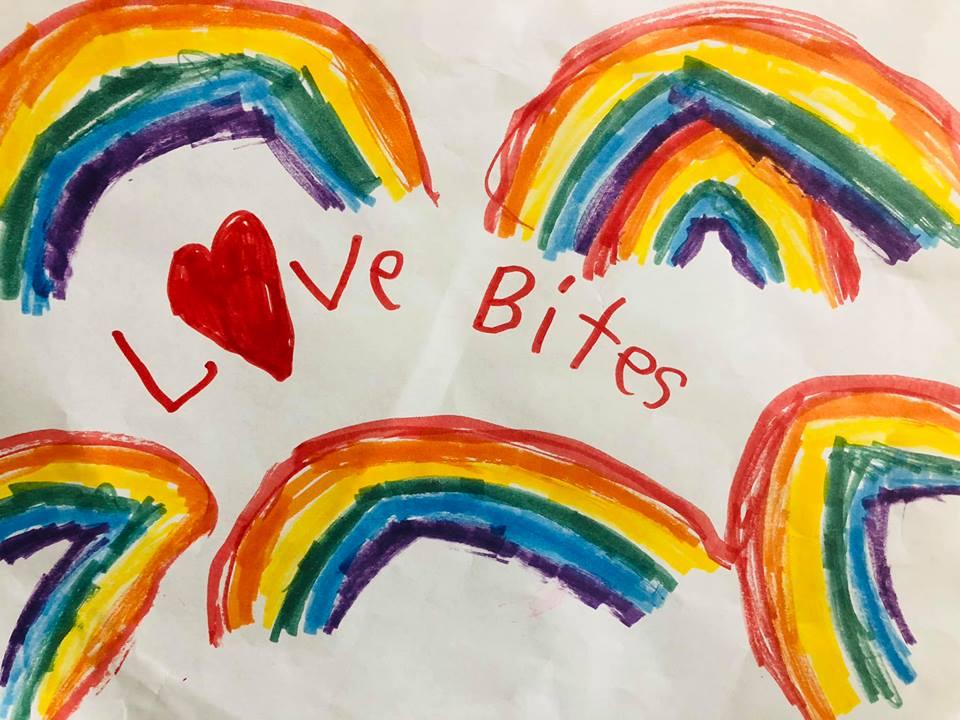 love Bites rainbow